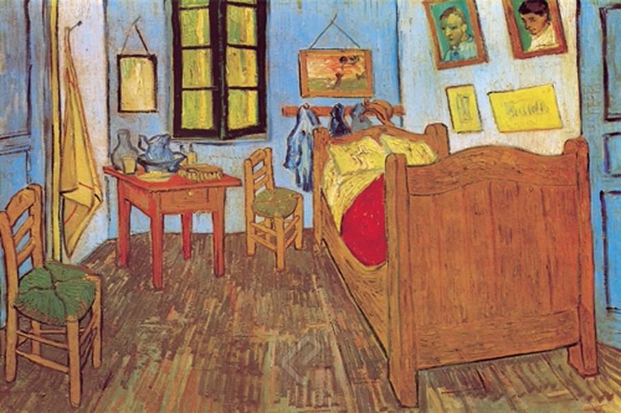 La chambre de Van Gogh à Arles – A1, A2