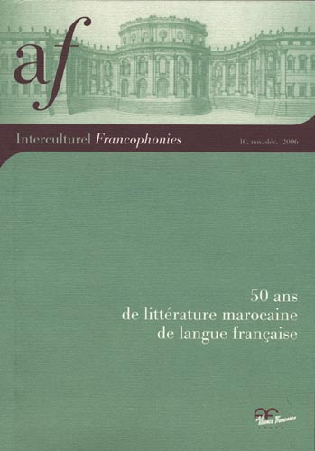 Littératures francophones vues d'Italie