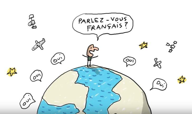 « Parle-t-on français ailleurs dans le monde ? »  question de Luna (10 ans) – (A2)